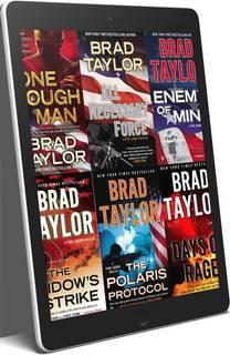 Brad Taylor Pike Logan Series 23 eBook Boxed Book Set ePub and MOBI Editions