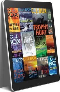C.J. Box Joe Pickett Series 23 eBook Boxed Book Set ePub and MOBI Editions