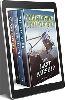Christopher Cartwright Sam Reilly Series 22 eBook Boxed Book Set ePub and MOBI Editions