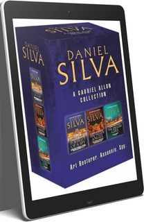 Daniel Silva Gabriel Allon Series 21 eBook Boxed Book Set ePub and MOBI Editions