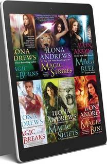 Ilona Andrews Series 41 eBook Boxed Book Set ePub and MOBI Editions