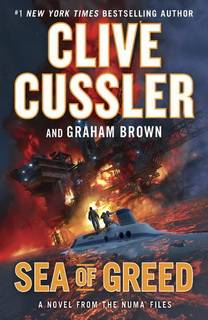 Sea of Greed (NUMA Files 16) by Clive Cussler