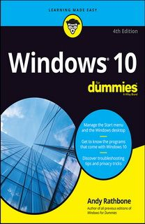 Windows 10 For Dummies 4th Edition by Andy Rathbone €1.99 Only!